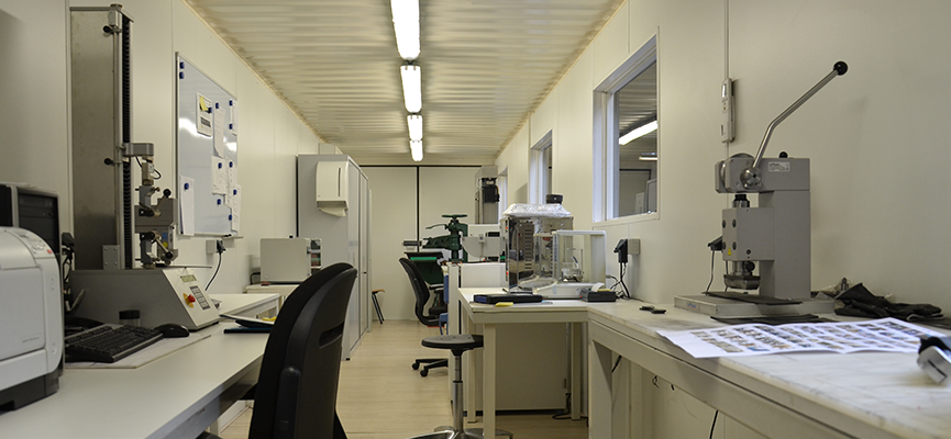 T-Rex lab | fully equipped laboratory to perform quality control
