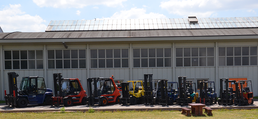 T-Rex Logistics | Impressive fleet of forklift trucks