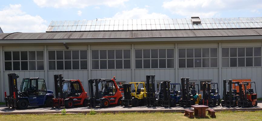 T-Rex Logistyka | Robiąca wrażenie ilość wózków widłowych