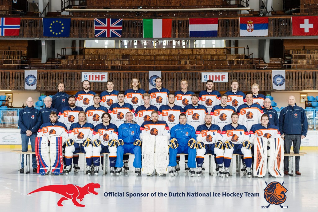 Proud Sponsor of Dutch National Ice Hockey Team