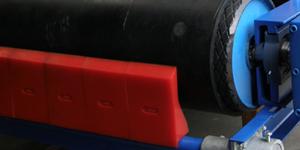 T-Rex Belt Cleaning, PUR Belt Scraper