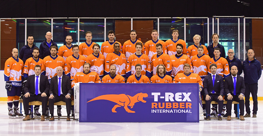 We are Proud Sponsor of Dutch National Ice Hockey Team