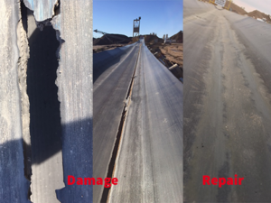 Fourthane | Fast Repair System for Conveyor Belts