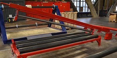 T-Rex Conveyor Belt Slitting & Winding Lines