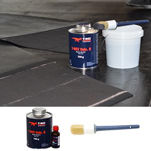 T-REX Vulc B & Tool 3   T-Rex Vulcanization Material